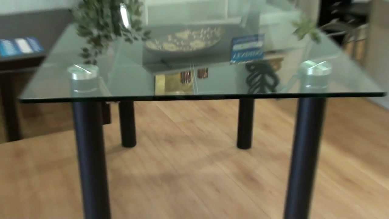Mesa comedor cristal 1842 youtube - Cristal para mesa ...