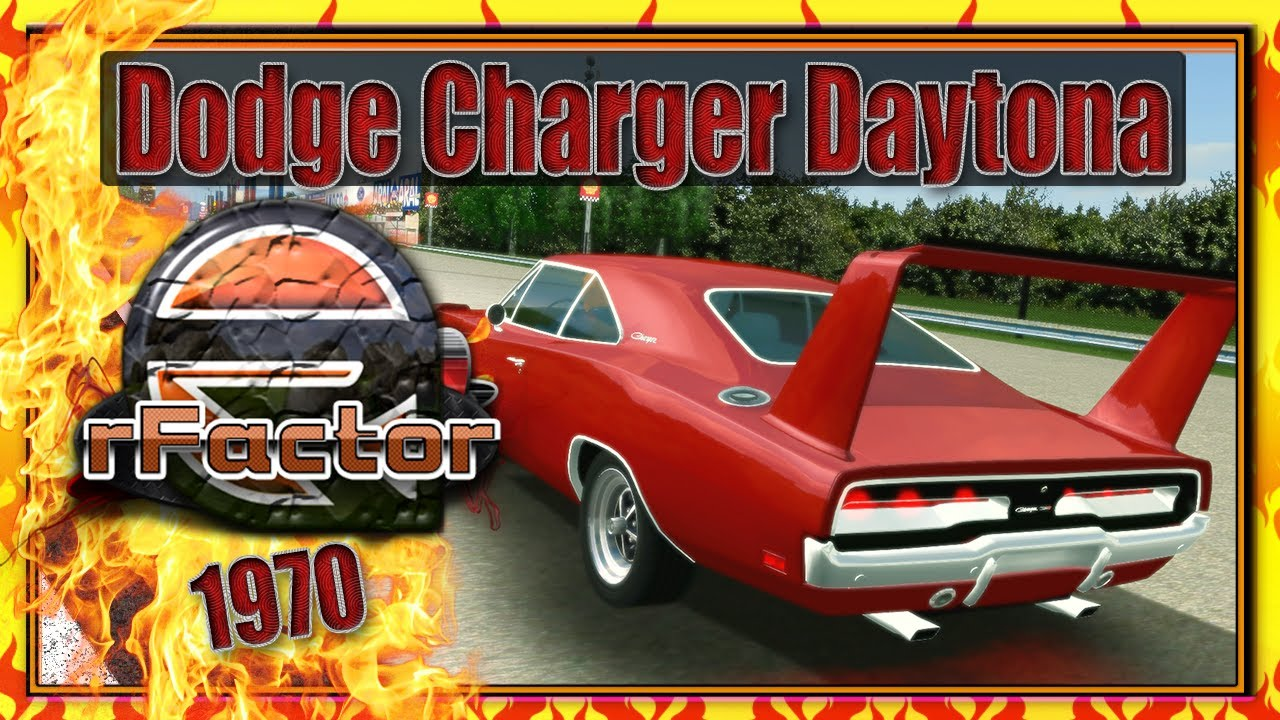 dodge charger daytona 1970 italian grand prix 1967 rfactor wqhd youtube. Black Bedroom Furniture Sets. Home Design Ideas