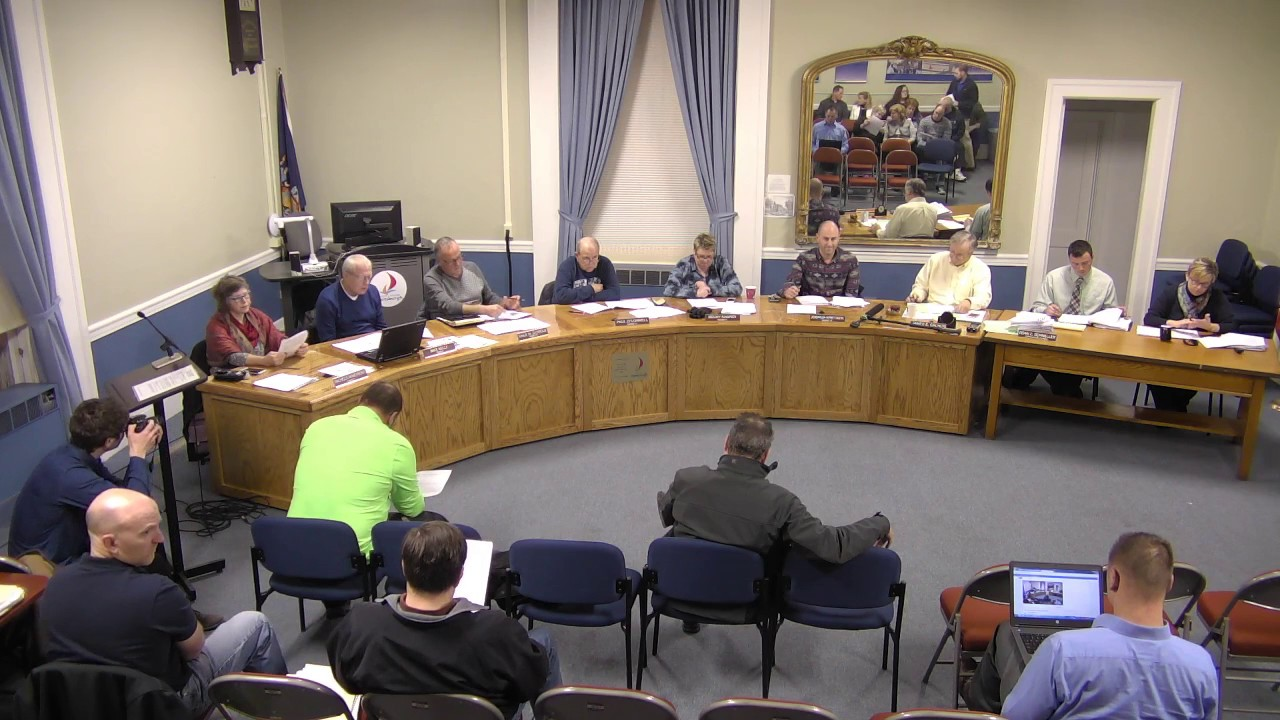 City of Plattsburgh, NY Common Council Meeting 12-28-16