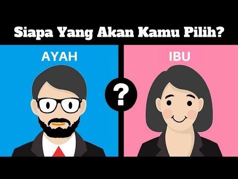 (VIDEO PSIKOTES) Siapa Yang Harus Kamu Pilih, Ayahmu Atau Ibumu?