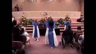 "3 Js PRIASE DANCE TO ""TAKE ME TO THE KING"" BY TAMELA MANN"