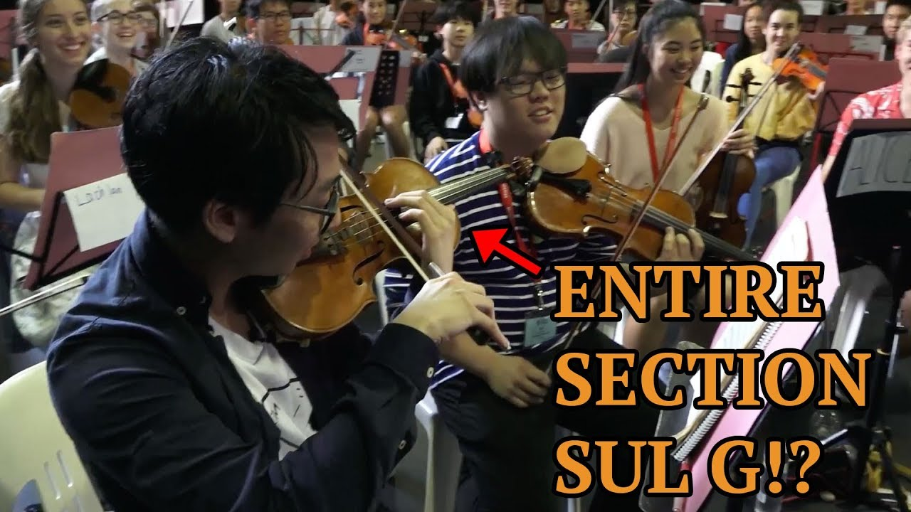 We Made 10 Orchestras Do The Ling Ling Workout Youtube