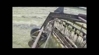 How to use a side delivery hay rake
