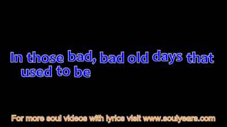 The Foundations - In the Bad Bad Old Days (with lyrics)