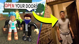 stalker comes to my REAL HOUSE... (Roblox)