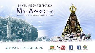 Baixar Santa Missa Festiva à Nossa Senhora Aparecida no Santuário do Bom Jesus da Lapa 12/10/2019 - 7h