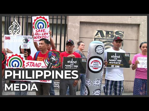 Philippines shuts down major TV network