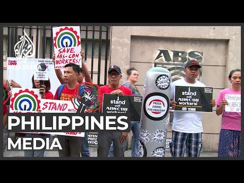 Philippines shuts down major TV network