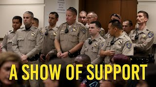 CHP attends arraignment of man charged in officer