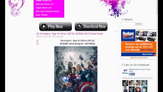 How To Download Movies Of 350Mb For Free (No torrent)