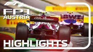 2019 Austrian Grand Prix: FP1 Highlights