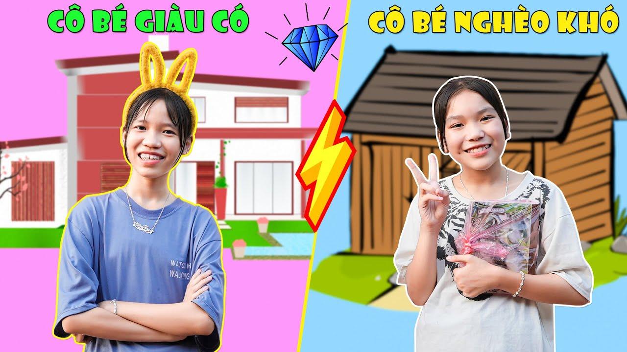 Download Cô Bé Giàu Có VS Cô Bé Nghèo Khó ♥ Min Min TV Minh Khoa