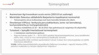 Agrineuvos 2015.08 - Lietelannan levittäminen