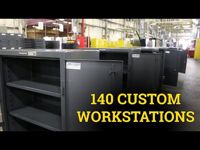 Build Spotlight: 140 Custom Workstations