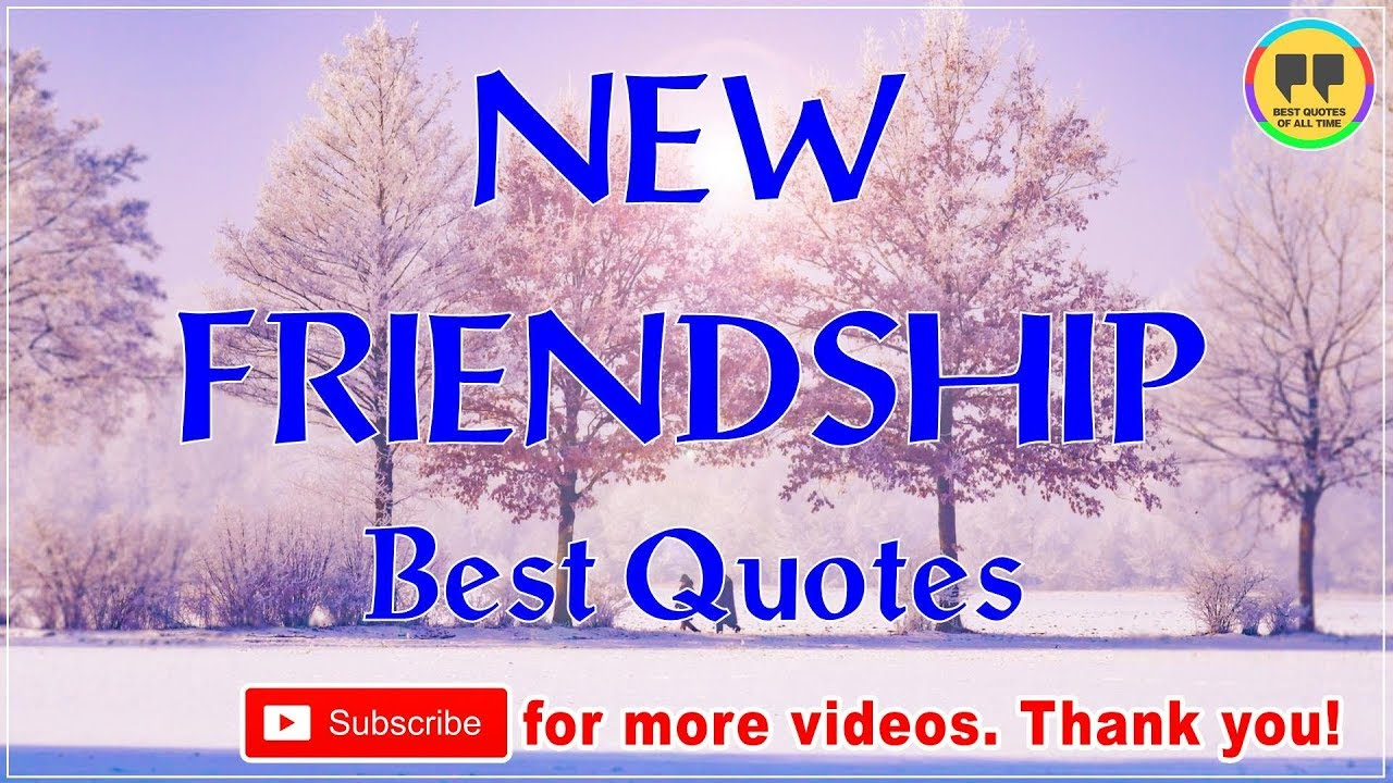 Top 50 New Friendship Quotes Best Friendship Quotes Youtube
