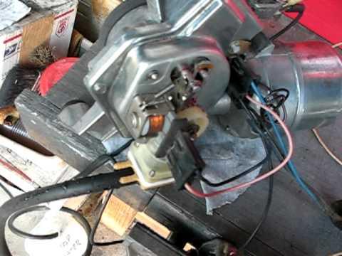 1966 impala wiper motor testAVI  YouTube