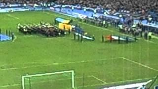 France - Ukraine 19-11-13 , entrée des joueurs avec Hymne de la Fifa + hymnes nationaux