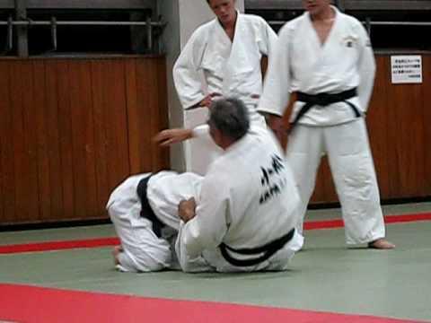 2009-08 Judo Sapporo Japan Newaza 2