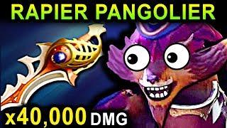 RAPIER PANGOLIER - DOTA 2 PATCH 7.07 NEW META PRO GAMEPLAY