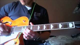 The Beatles - Cry For A Shadow Lead Guitar Tutorial & Cover with Tabs