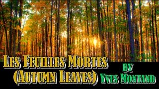 Les Feuilles Mortes (Autumn Leaves) - Yves Montand (Subtitles in French and English)