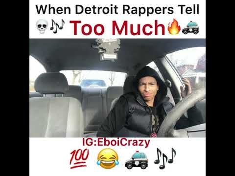 When Detroit Rappers Tell Too Much
