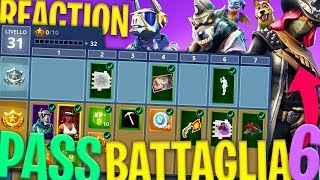 REACTION AL PASS BATTAGLIA 6 E TUTTE LE NOVITÀ - Fortnite Battle Royale ITA w/ Tear Tano Heme