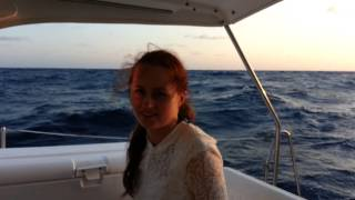 Leaving Bimini Bahamas on Gemini Catamaran