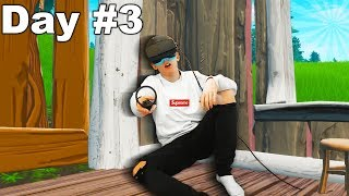 I Spent A Week in VR Fortnite
