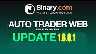Auto Trader Web - Binary.com - Atualização- Binary.com - Atualização