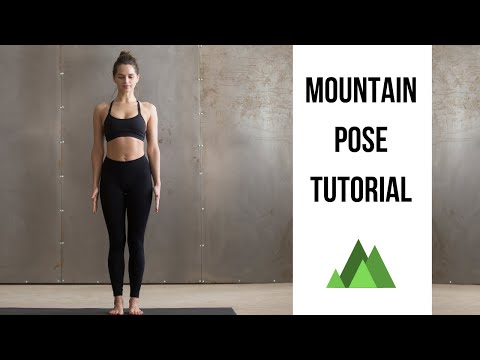 Mountain Pose Tutorial for Beginners