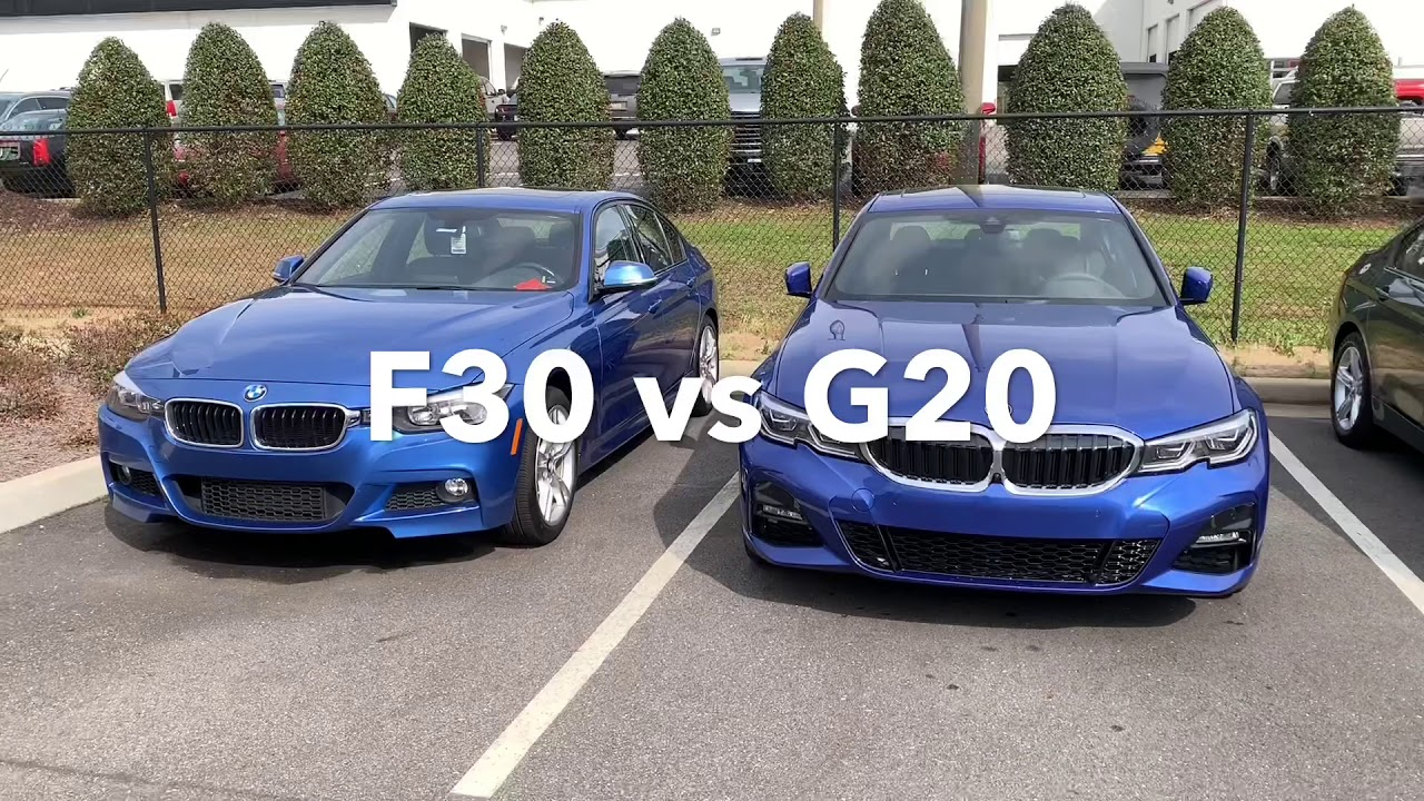 Bmw F30 Vs G20 Youtube