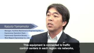 West Nippon Expressway Company Limited uses NEC