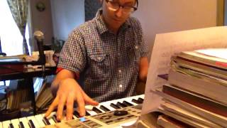 (612) Zachary Scot Johnson Closing Time Tom Waits Cover thesongadayproject Zackary Scott Piano Solo