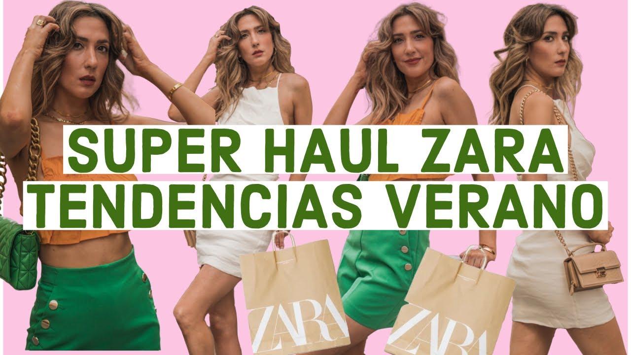 MODA: Haul de Zara NUEVA TEMPORADA Verano 2021+TENDENCIAS