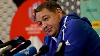 Press conference with Steve Hansen
