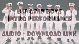 bts 방탄소년단 intro performance audiodl