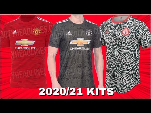 Manchester United 2020 21 Home Away Third Kits Leaked Youtube