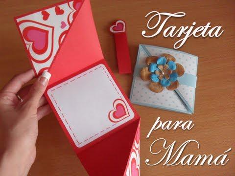 Dia de las madres tarjeta para mam youtube for Ideas para mama