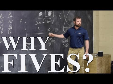 Why Fives for Strength Training? | Brent Carter