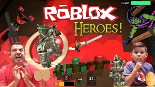 Let's Play ROBLOX HEROES Watch Out For The Green Goblin and Don't Say BUTT