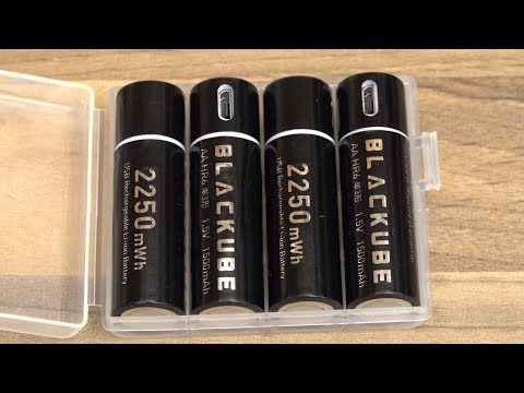 AA Lithium Batterie - Blackube Unboxing Und Review