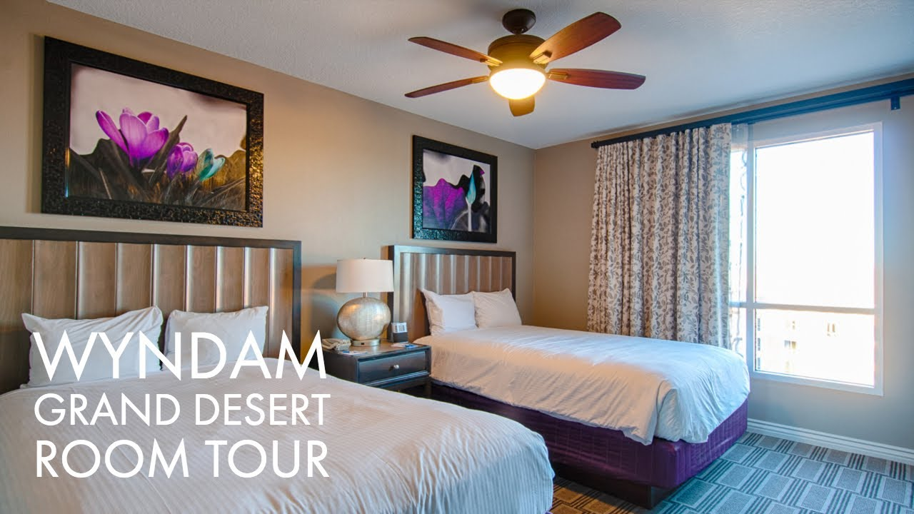 Las Vegas Wyndham Grand Desert 2 Bedroom Suite Hotel Room