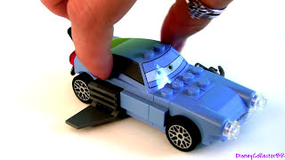 LEGO Professor Z Cars 2 Escape at Sea Building Toys Battle Ship Disney Pixar 8426 car-toys