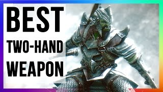 Skyrim Remastered BEST TWO HANDED Weapon Location (Liar's Retreat Walkthrough Longhammer Hidden)