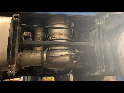 Cleaning DPF tank on a D13