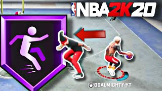 ANKLE BREAKER -HOW TO ACTIVATE THE ANKLE BREAKER BADGE WITH THESE CROSSOVERS IN NBA 2K20
