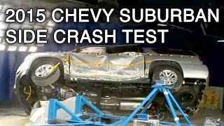 2015 Chevrolet Suburban Crash Test (Side)