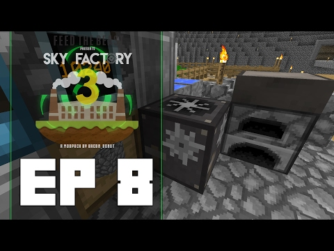 Sky Factory 3 Ep 8 | Glass Production | Dolinmyster Plays Sky Factory 3