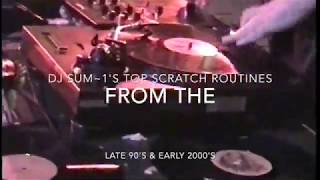 """Top """"Scratch' Routines from a very creative time in turntablism which was the late 90 to early 2000s"""